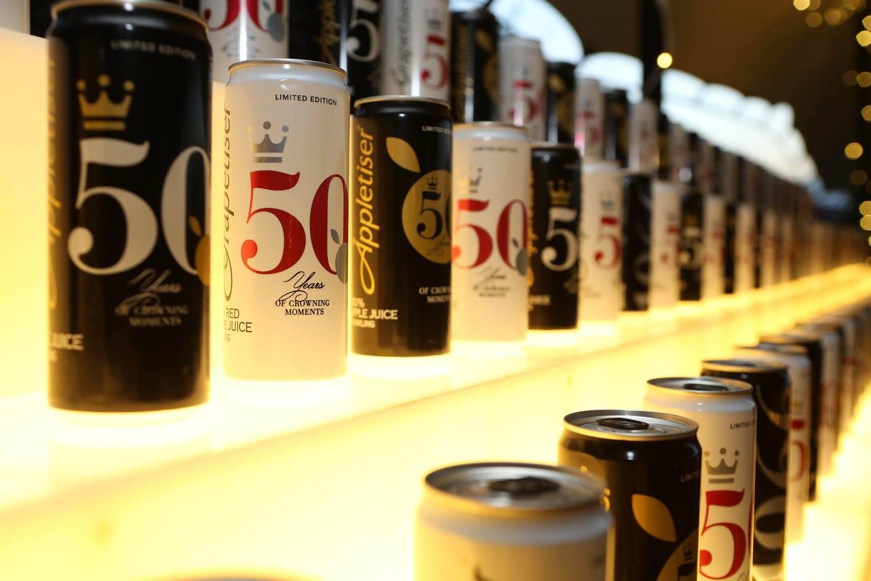 Appletiser's 50th Anniversary Celebration